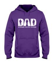 Veteran Dad - The Veteran - The Myth - The Legend Hooded Sweatshirt thumbnail
