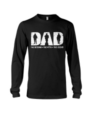 Veteran Dad - The Veteran - The Myth - The Legend Long Sleeve Tee tile