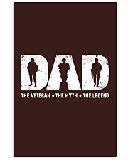 Veteran Dad - The Veteran - The Myth - The Legend Vertical Poster tile