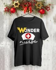 Wonder Nurse Classic T-Shirt lifestyle-holiday-crewneck-front-2