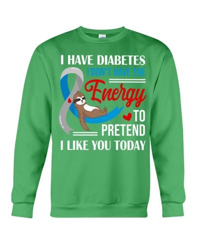 Diabetes - I like you today