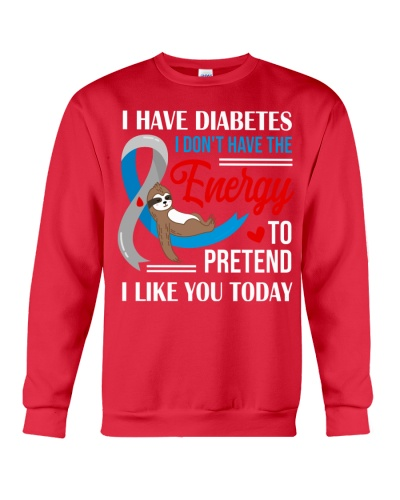 Diabetes - I like you today