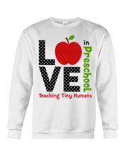 Preschool Teacher - Teaching tiny humans Crewneck Sweatshirt thumbnail