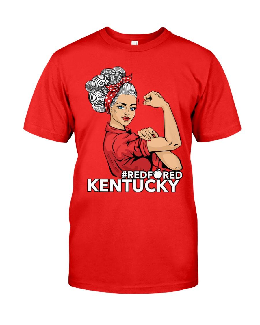 Kentucky Strong Teacher - RedforED Classic T-Shirt