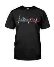 Firefighter - American Premium Fit Mens Tee thumbnail