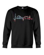 Firefighter - American Crewneck Sweatshirt thumbnail