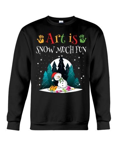 Art Teacher - Art is Snow much Fun