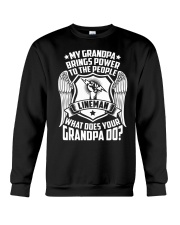My Grandpa  - Lineman Crewneck Sweatshirt tile
