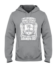 My Grandpa  - Lineman Hooded Sweatshirt thumbnail