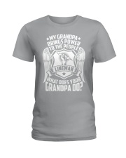 My Grandpa  - Lineman Ladies T-Shirt thumbnail