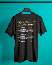Nurse - Retirement Weekly Schedule Classic T-Shirt lifestyle-mens-crewneck-front-3