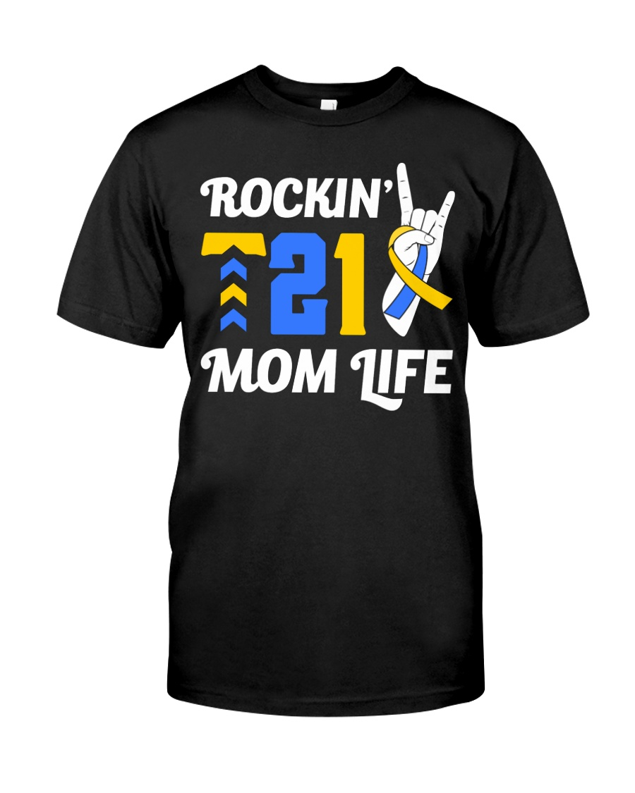 Down Syndrome - Rockin' T21 Classic T-Shirt