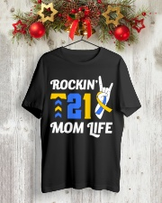 Down Syndrome - Rockin' T21 Classic T-Shirt lifestyle-holiday-crewneck-front-2