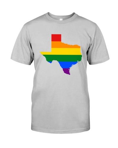 LGBT Pride - Texas Map