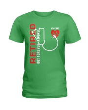 Retired Nurse - Forever  Ladies T-Shirt thumbnail