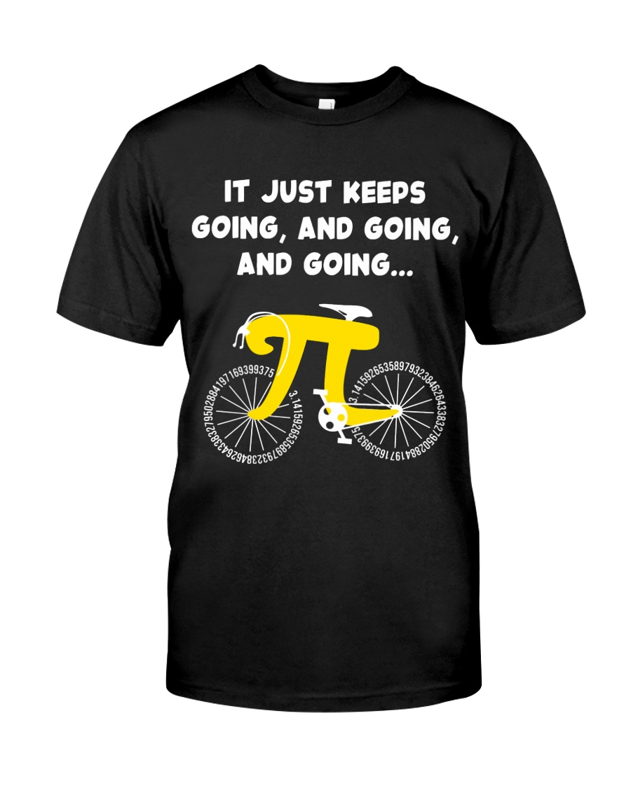 Pi Day - It just keeps going Classic T-Shirt