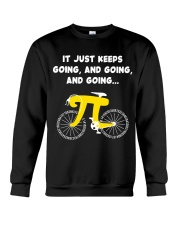 Pi Day - It just keeps going Crewneck Sweatshirt thumbnail