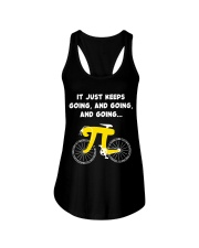 Pi Day - It just keeps going Ladies Flowy Tank thumbnail