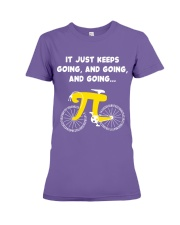 Pi Day - It just keeps going Premium Fit Ladies Tee thumbnail