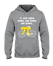 Pi Day - It just keeps going Hooded Sweatshirt thumbnail