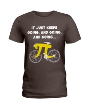 Pi Day - It just keeps going Ladies T-Shirt thumbnail