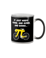 Pi Day - It just keeps going Color Changing Mug thumbnail