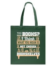 Librarian - Many Books Tote Bag tile