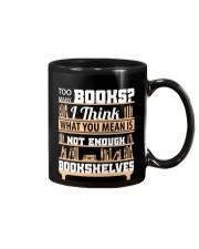 Librarian - Many Books Mug thumbnail