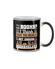 Librarian - Many Books Color Changing Mug thumbnail