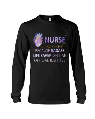 Nurse - Life saver - Heart beat design