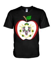 Connecticut - National Teacher Day V-Neck T-Shirt thumbnail