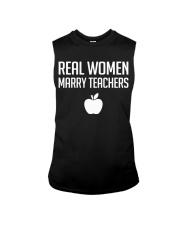Real Women Marry Teachers Sleeveless Tee thumbnail