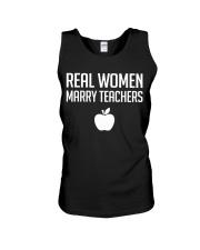 Real Women Marry Teachers Unisex Tank thumbnail