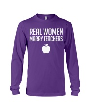Real Women Marry Teachers Long Sleeve Tee thumbnail