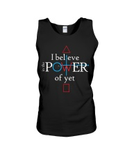 Math Teacher - Believe in the Power of Yet Unisex Tank thumbnail