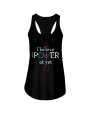 Math Teacher - Believe in the Power of Yet Ladies Flowy Tank thumbnail
