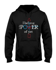 Math Teacher - Believe in the Power of Yet Hooded Sweatshirt thumbnail
