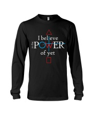 Math Teacher - Believe in the Power of Yet Long Sleeve Tee thumbnail