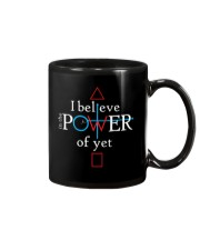 Math Teacher - Believe in the Power of Yet Mug thumbnail