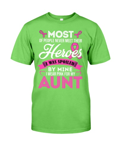 Breast Cancer - Wear Pink for my Aunt