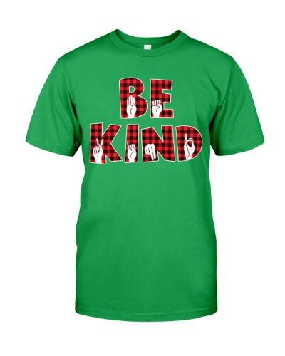 SPEDUCATOR - BE KIND - RED PLAID