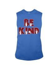 SPEDUCATOR - BE KIND - RED PLAID  Sleeveless Tee thumbnail