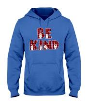 SPEDUCATOR - BE KIND - RED PLAID  Hooded Sweatshirt thumbnail