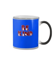 SPEDUCATOR - BE KIND - RED PLAID  Color Changing Mug thumbnail