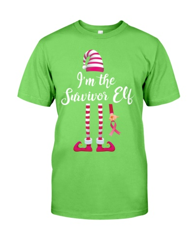 Breast Cancer - Survivor ELF - Christmas Gift