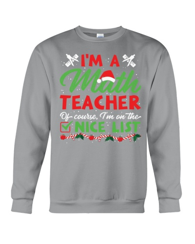Math Teacher - Nice list
