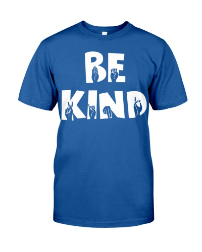 Special Education Teacher - Be Kind - Hand sign