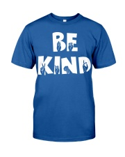 Special Education Teacher - Be Kind - Hand sign Classic T-Shirt front