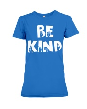 Special Education Teacher - Be Kind - Hand sign Premium Fit Ladies Tee thumbnail