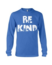 Special Education Teacher - Be Kind - Hand sign Long Sleeve Tee thumbnail